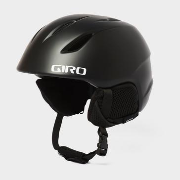 Black GIRO Kids' Launch Snow Helmet