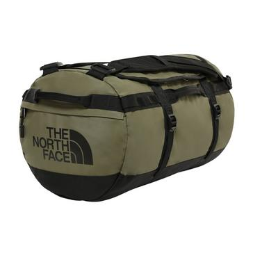 Green The North Face Basecamp Duffel Bag (Small)