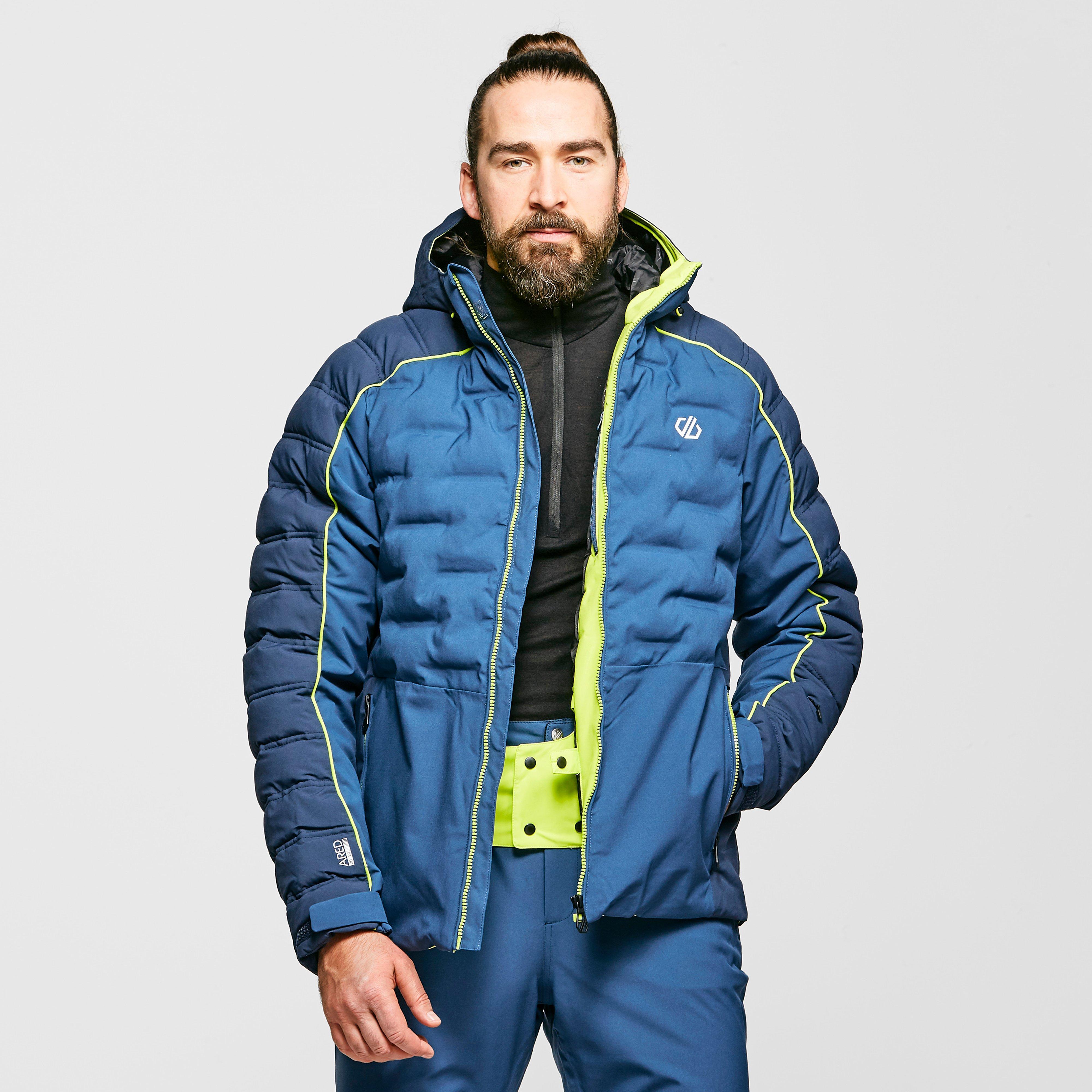 Dare 2B Men's Expounder Waterproof Insulated Ski Jacket - Blue/Blue, Blue