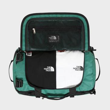 Green The North Face Basecamp Duffel Bag (Extra Small)