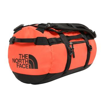 Orange The North Face Basecamp Duffel Bag (Extra Small)