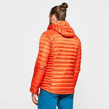 Orange Rab Men's Microlight Alpine ECO Down Jacket
