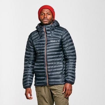 Grey Rab Men's Cirrus Flex 2.0 Insulated Hooded Jacket