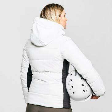 White Protest Women's Becca Fitted Ski Jacket