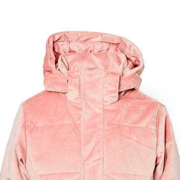 Pink Protest Women's Diva Velvet Ski Jacket