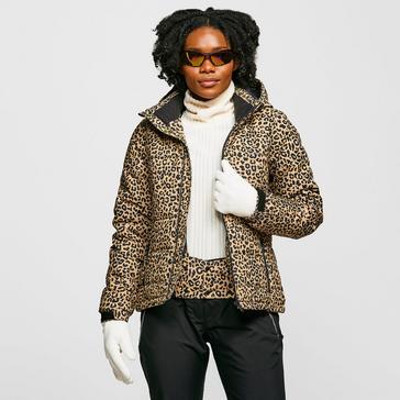 Brown Protest Women's Dallas Snow Jacket