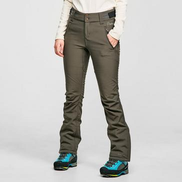 Grey Protest Women's Lole Softshell Ski Trousers