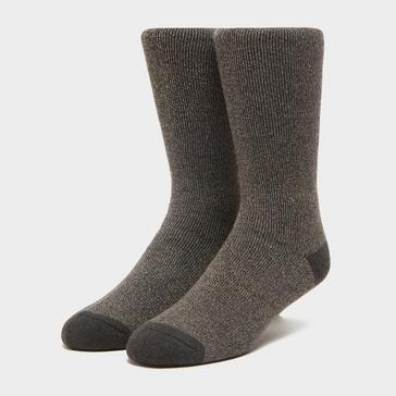 Brown Heat Holders Men's Lite Twist Socks