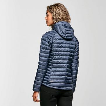 Grey Rab Women's Microlight Alpine Down Long Jacket