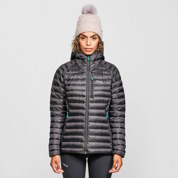 Black Rab Women's Microlight Alpine Down Long Jacket