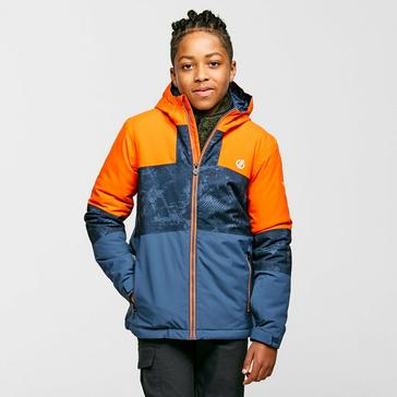 Orange Dare 2B Kids' Cavalier Ski Jacket