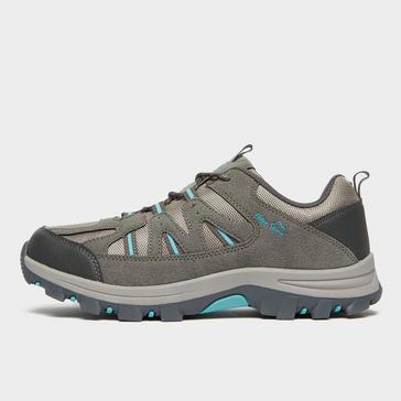 Grey Peter Storm Women's Buxton Walking Shoe