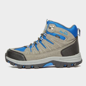 Grey Peter Storm Kids' Dovedale Waterproof Mid Hiking Boot
