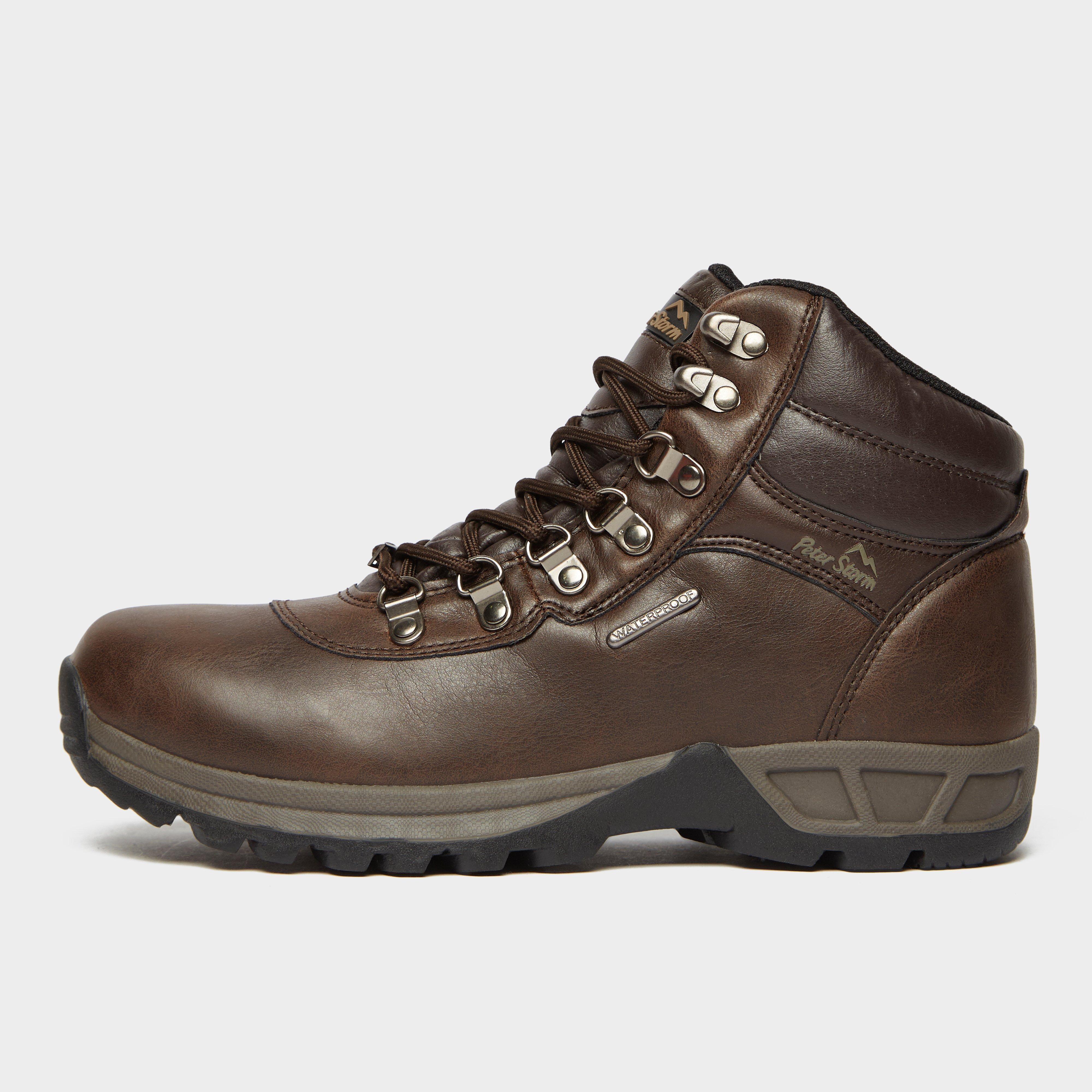 Peter Storm Kids' Rivelin Walking Boots - Brown/Brn, Brown