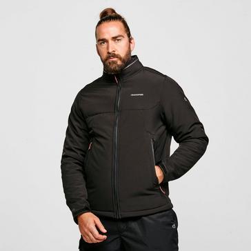 Black Craghoppers Men's Nerva Softshell Jacket
