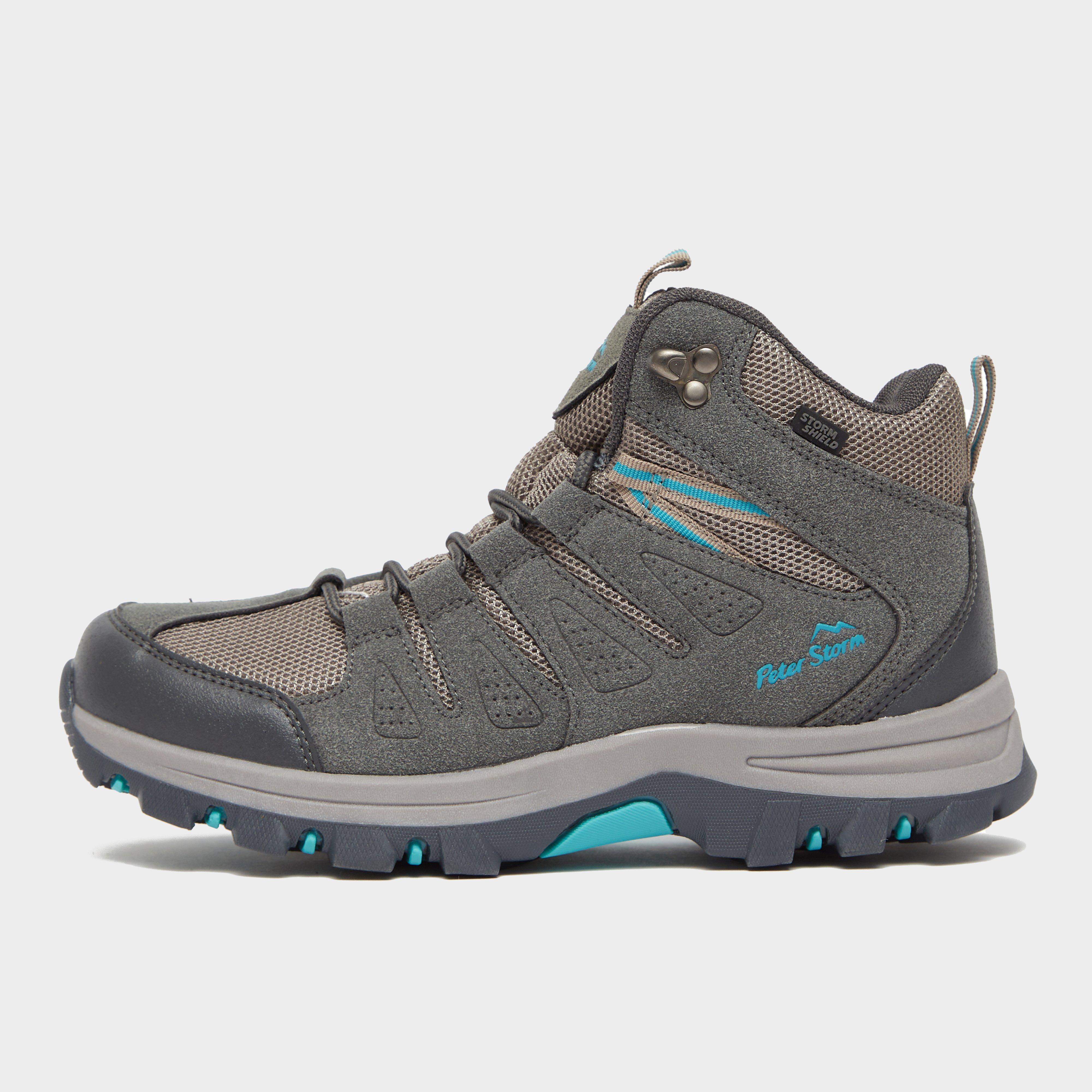 Peter Storm Women's Dovedale Waterproof Walking Boot - Grey, Grey
