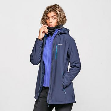 Navy Craghoppers Women's Ara Softshell Jacket