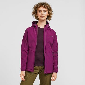 Pink Craghoppers Women's Kalti Waterproof Jacket