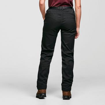 Black Craghoppers Women's Kiwi Pro Stretch Winter Lined Trousers
