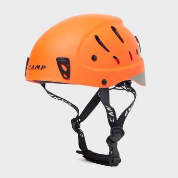 Orange Camp Armour Pro Helmet