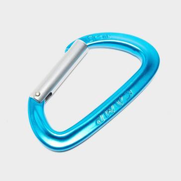 Blue Camp Orbit Straight Gate Carabiner