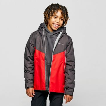 Red Craghoppers Kids' Haider Jacket
