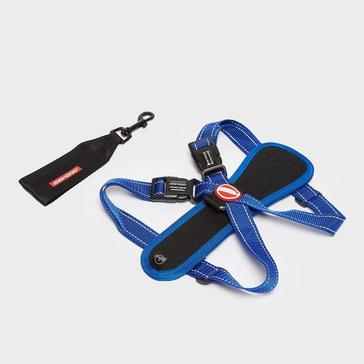blue Ezy-Dog Chest Plate Harness (Large)