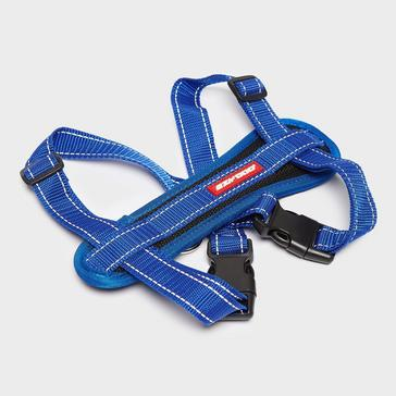 blue Ezy-Dog Chest Plate Harness (Medium)