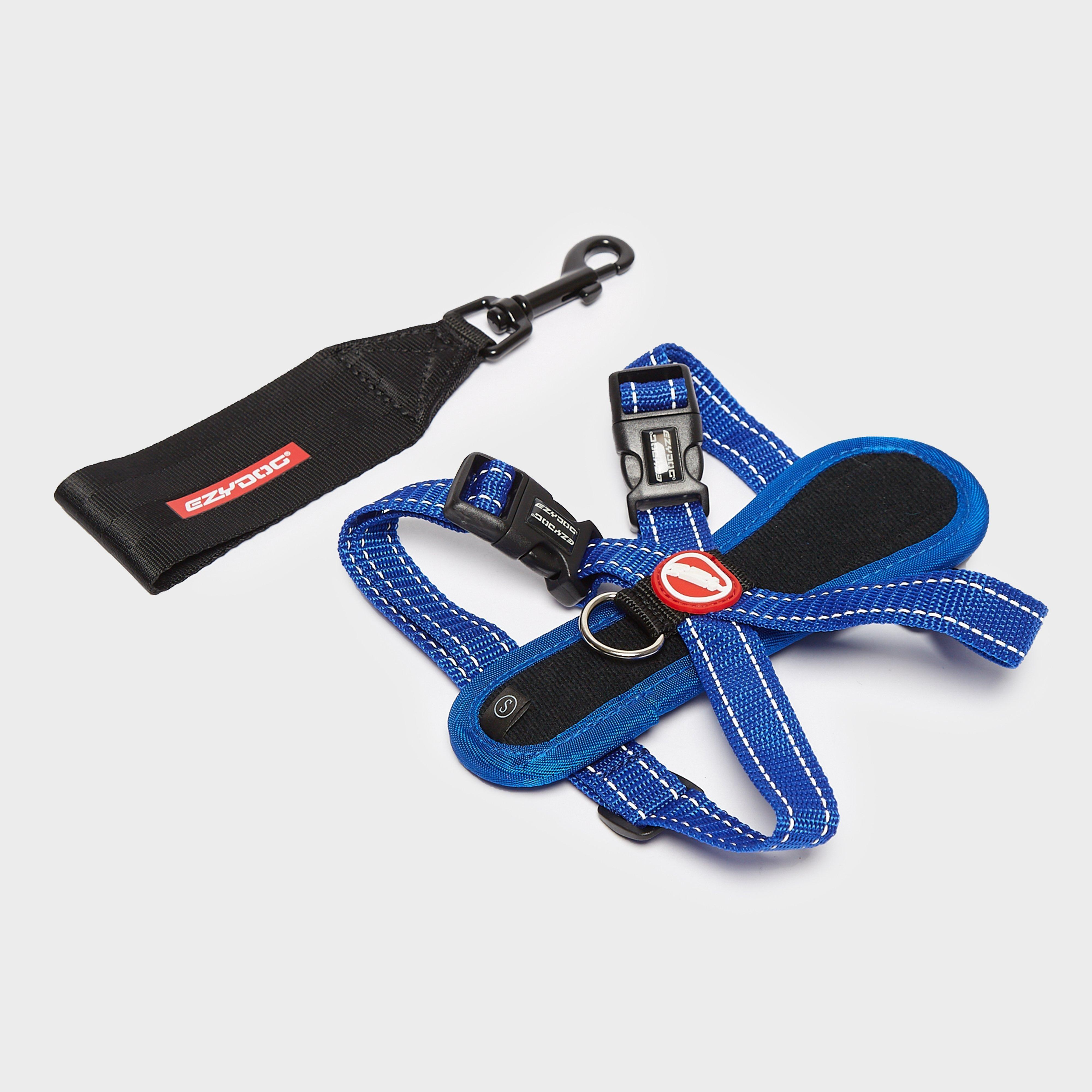 Image of Ezy-Dog Chest Plate Harness Small - Blue/Mbl, Blue/MBL