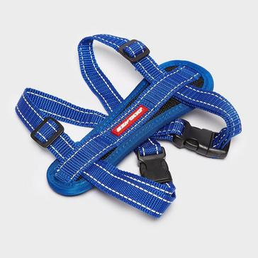 Blue Ezy-Dog Chest Plate Harness Small