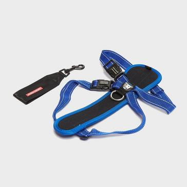 Blue Ezy-Dog Chest Plate Harness XL