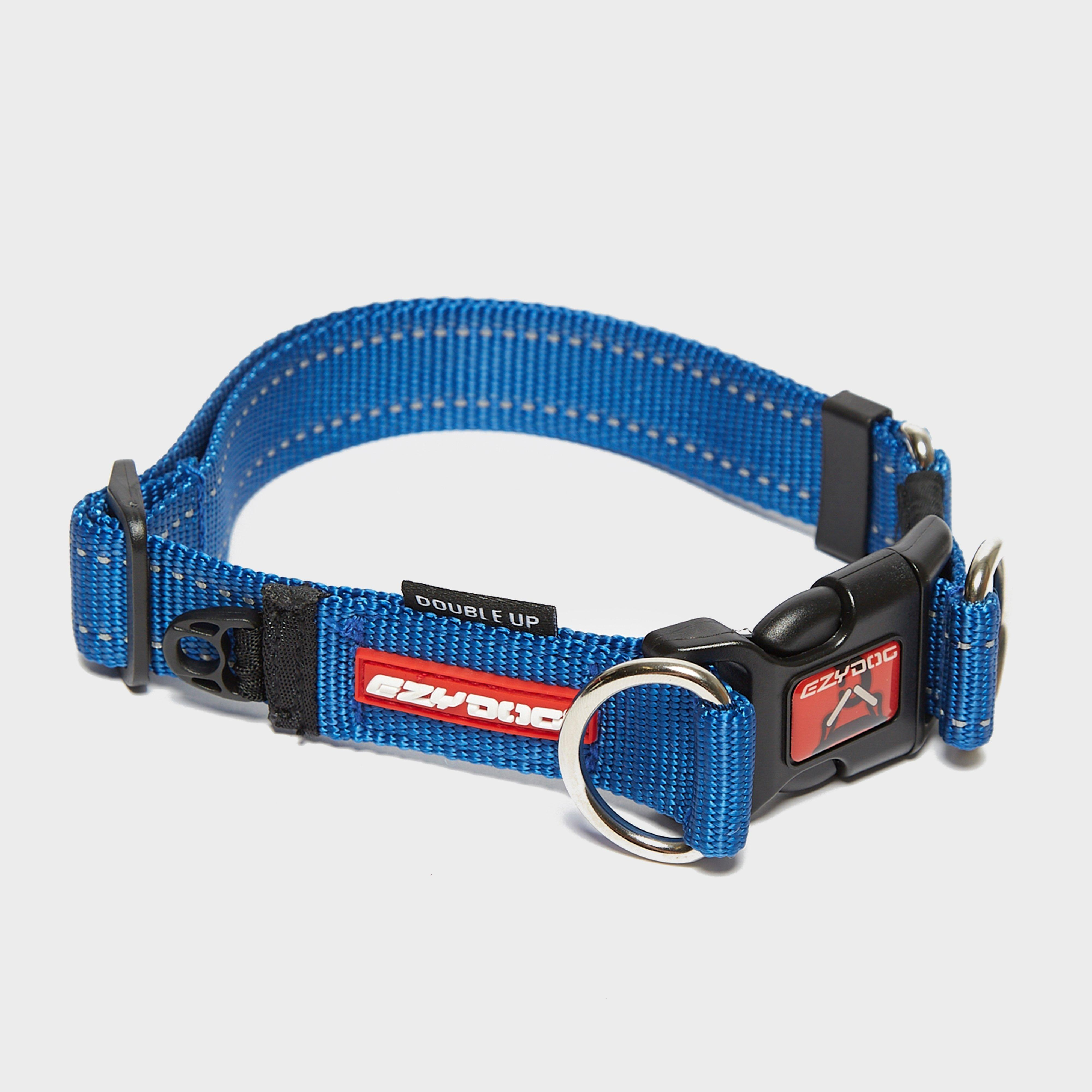 Image of Ezy-Dog Double Up Collar Large Blue - Blue/Mbl, Blue/MBL