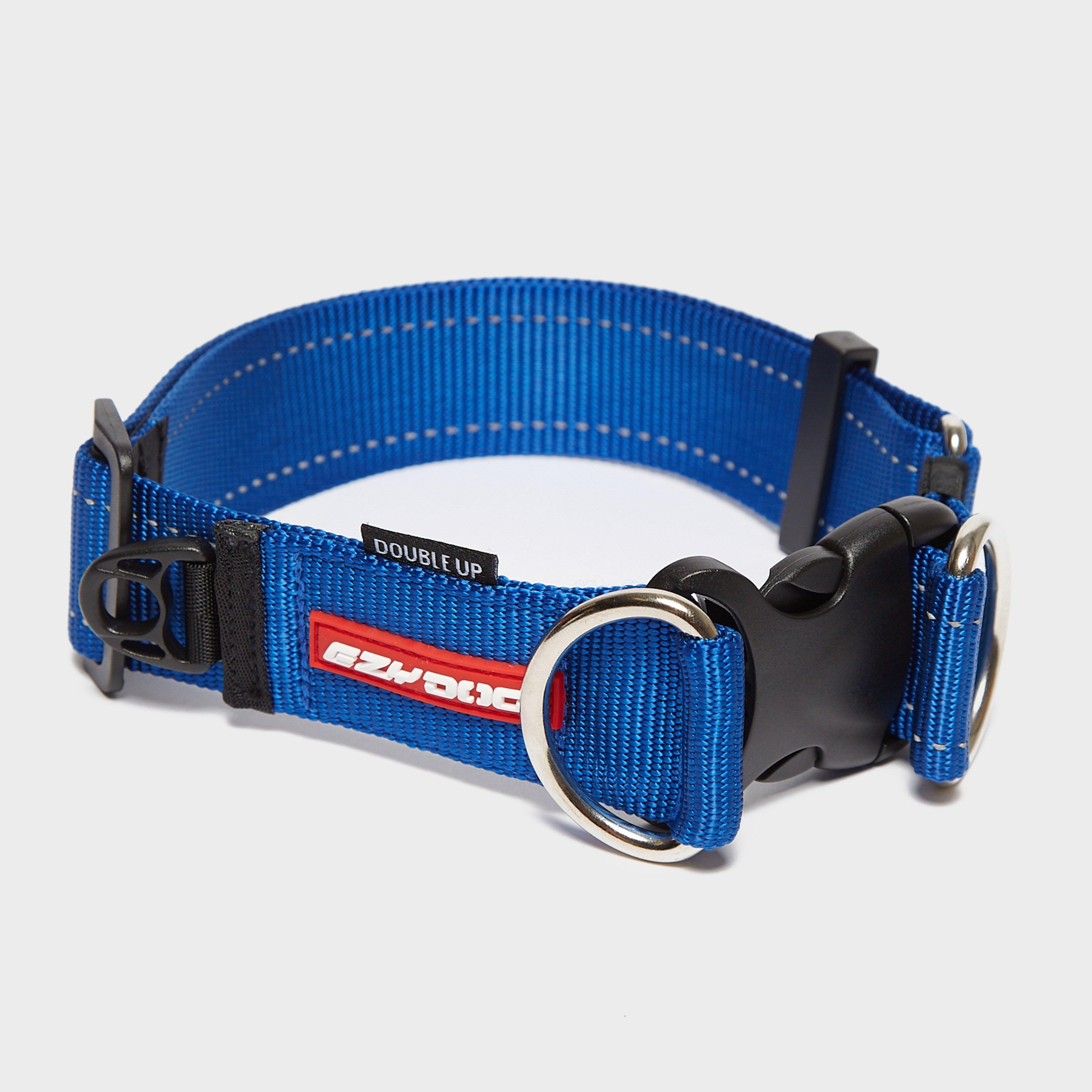 Image of Ezy-Dog Double Up Collar Xl - Blue/Mbl, Blue/MBL