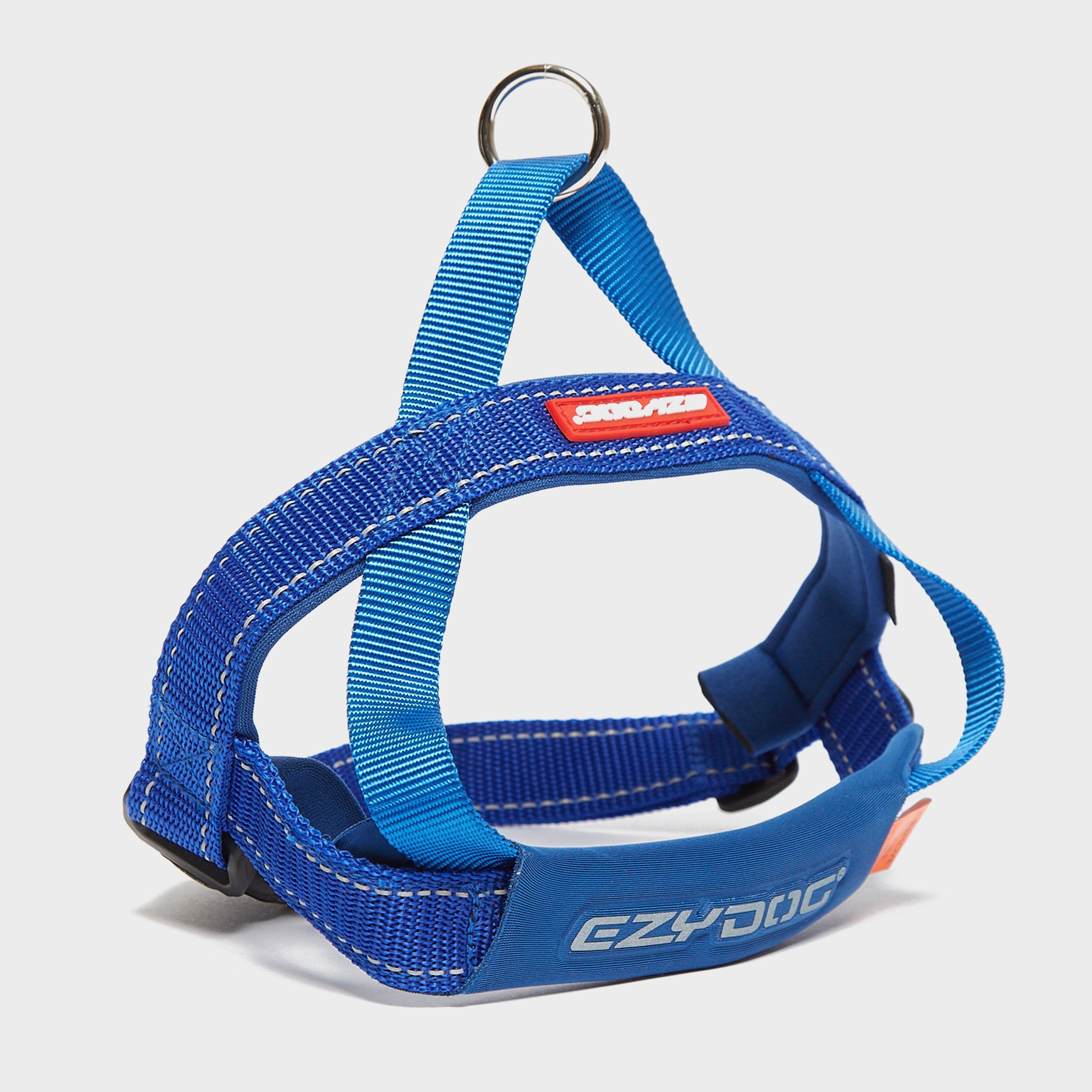 Image of Ezy-Dog Quick Fit Harness (Medium) - Blue/Mbl, Blue/MBL