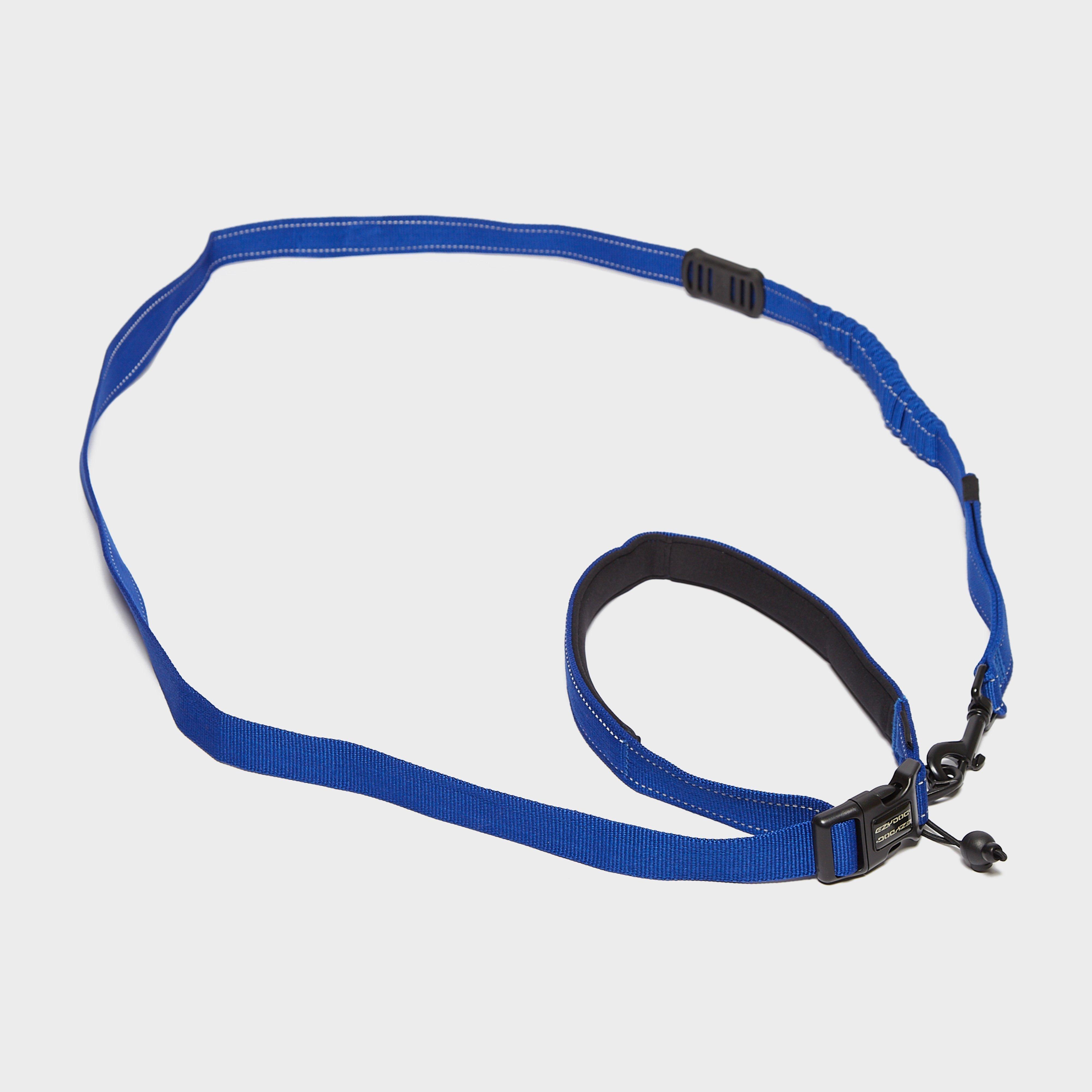 Image of Ezy-Dog Road Runner Lead - Blue/M, blue/M