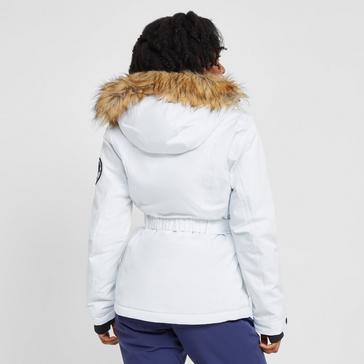 White Ellesse Women's Colledge Ski Jacket