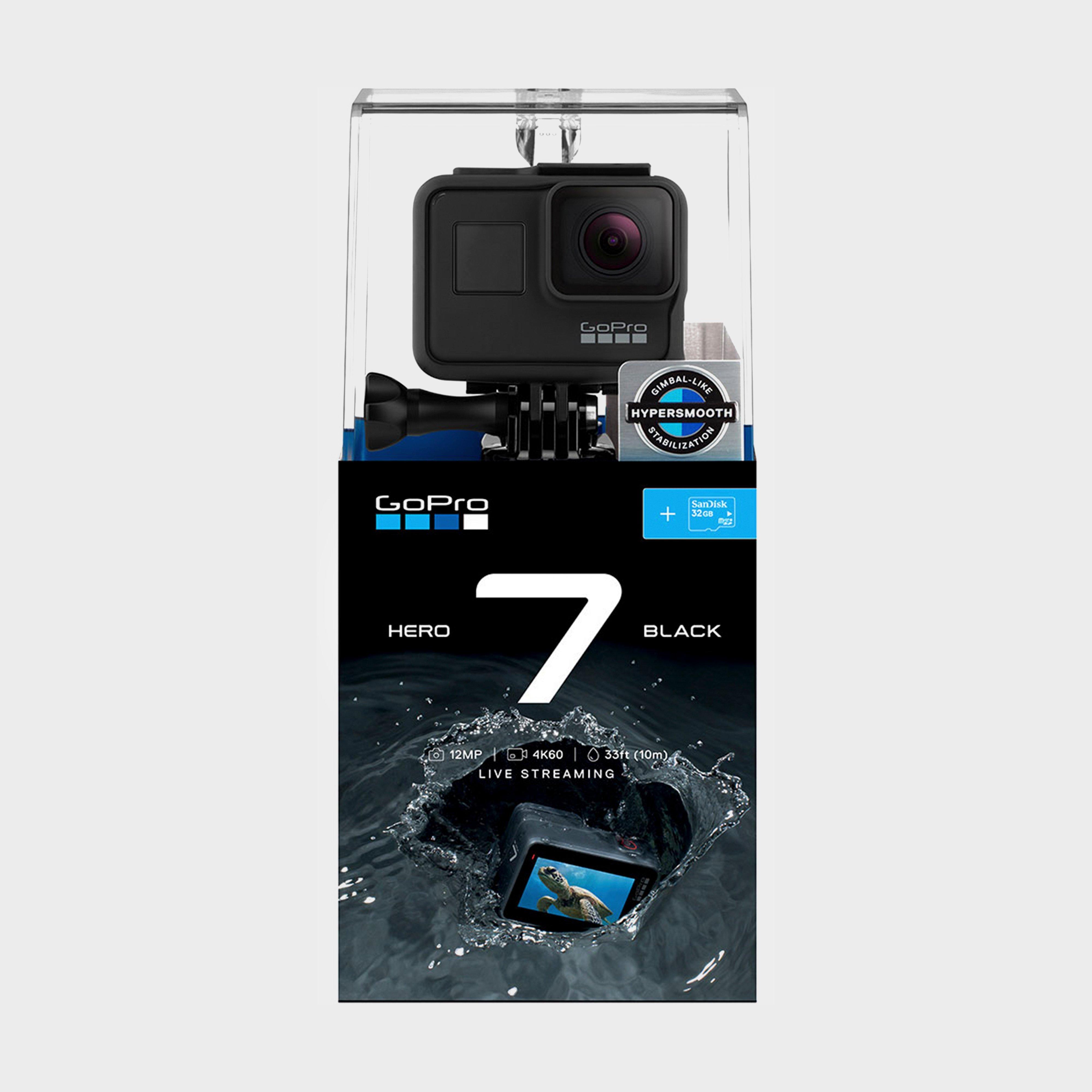 Gopro Gopro Hero7 Black SD Bundle, Black