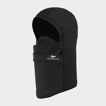 Black Sealskinz Unisex Waterproof Head Gaiter