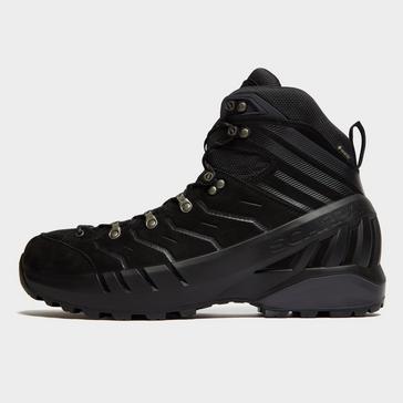 Black Scarpa Men's Cyclone Mid GTX Walking Boots