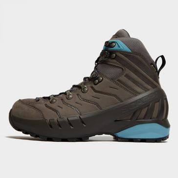 Brown Scarpa Women's Cyclone Mid GTX Hiking Shoes