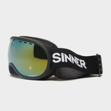 Black Sinner Vorlage Ski Goggles