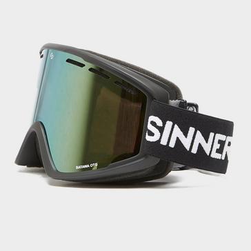 Black Sinner Sinner Batawa Ski Goggles