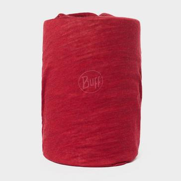 Red BUFF Lightweight Merino Wool Tubular