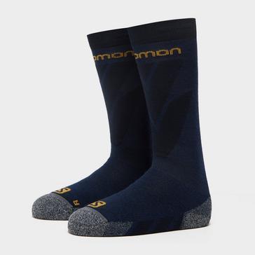 Navy SALOMON SOCKS Men's Access Ski Socks
