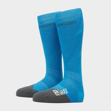 Blue SALOMON SOCKS Men's Max Ski Socks