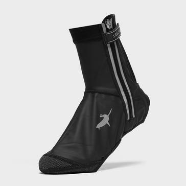 Black Sealskinz All Weather LED Open Sole Cycle Overshoe