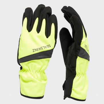 yellow Sealskinz All Weather Cycle Gloves
