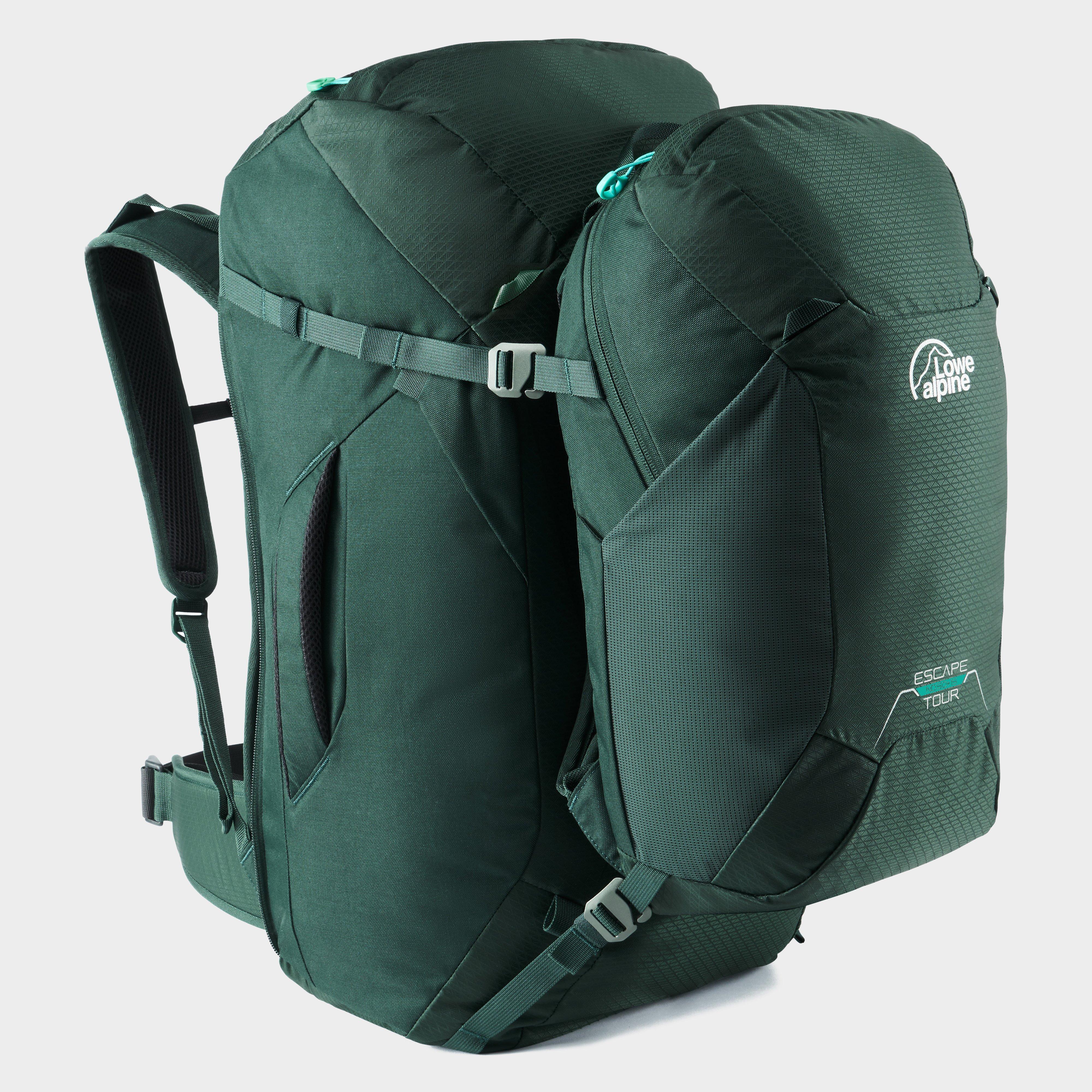 Lowe Alpine Escape Tour Nd50+15L Rucksack - Green/Nd, Green
