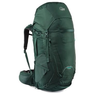 Green Lowe Alpine Escape Trek 50:60 Rucksack