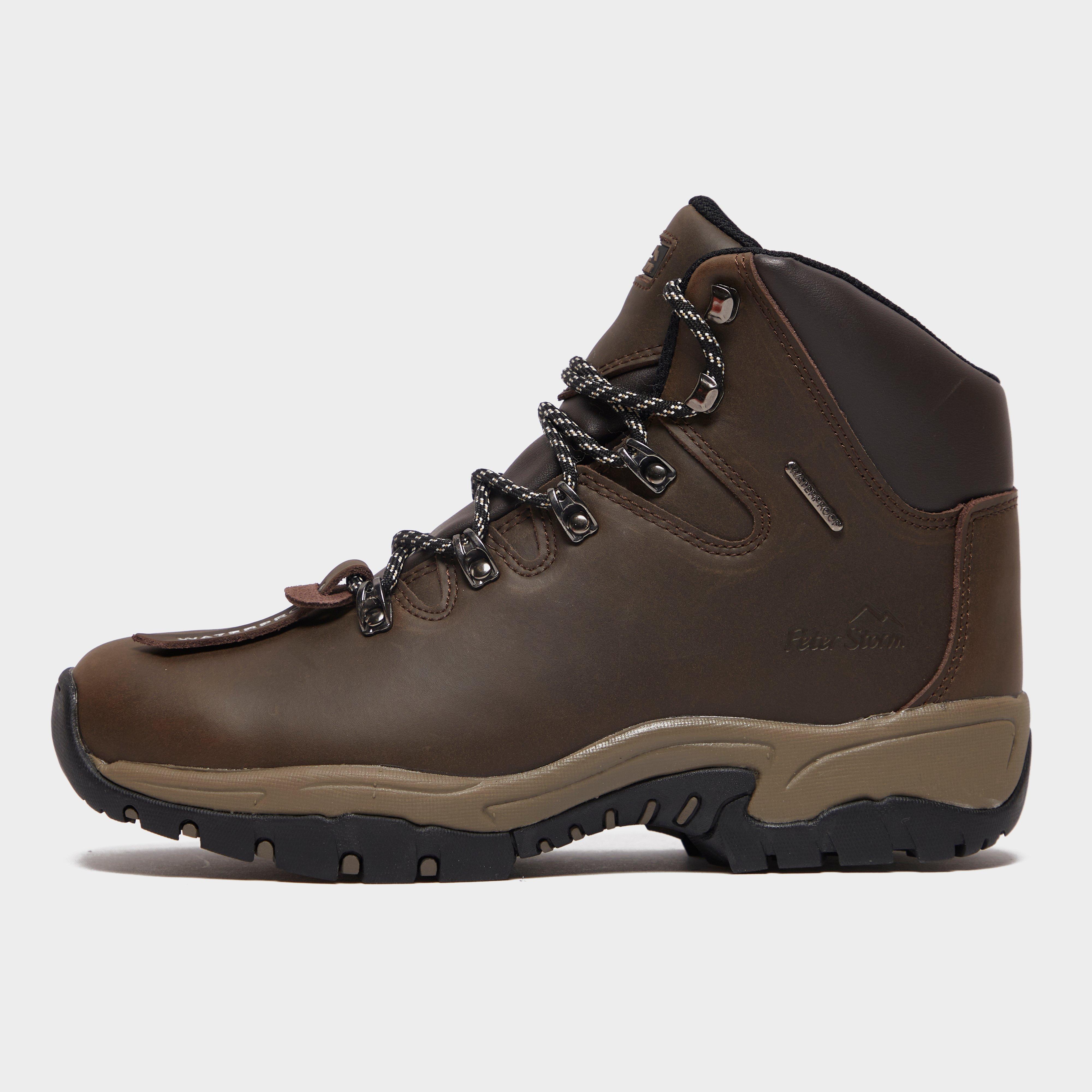 Peter Storm Kids' Snowdon Ii Walking Boots - Brown, Brown